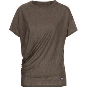 super.natural Yoga Maglietta Ampia Donna, marrone